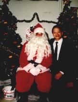 With Santa!