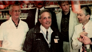 With Mayor Mel Lastman